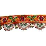 "Varni Creation Diwali Decoration-Traditional Toran For Door - 37"" Inch Length"