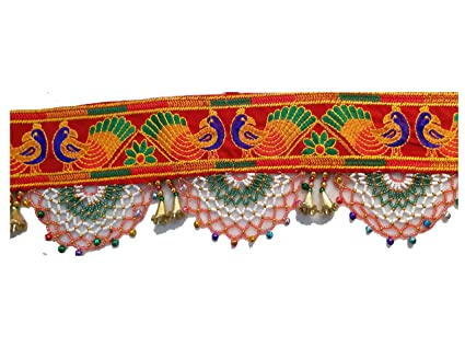 70bb9e99338 Buy Varni Creation Diwali Decoration-Traditional Toran For Door - 37