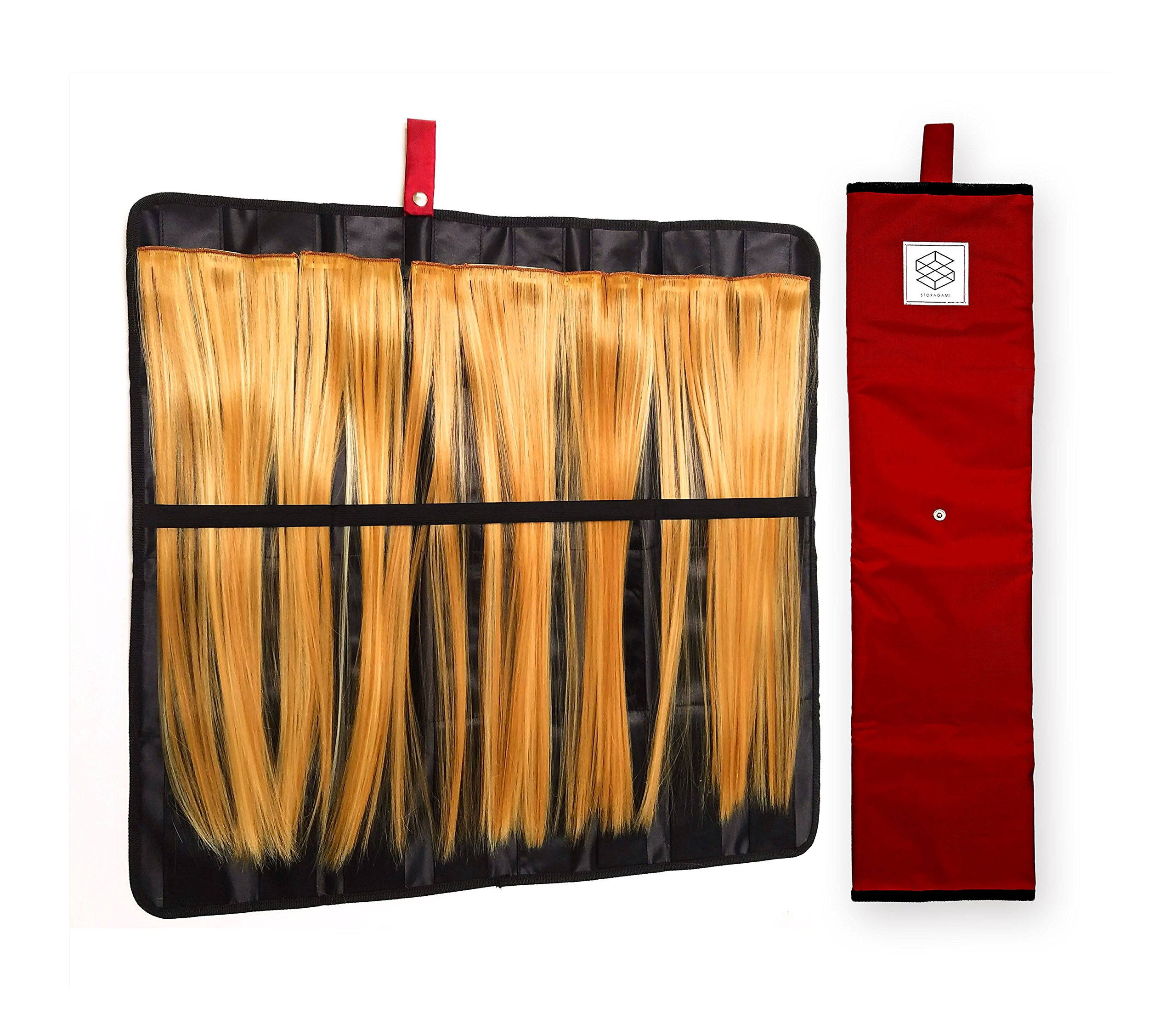 Hair Extension Storage Organizer Holder For Human Hair Extensions