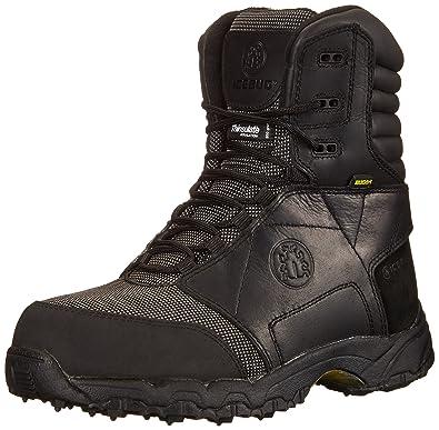 Icebug Men's Vidar Pro High BUGrip Studded Traction Work Boot, Black, ...