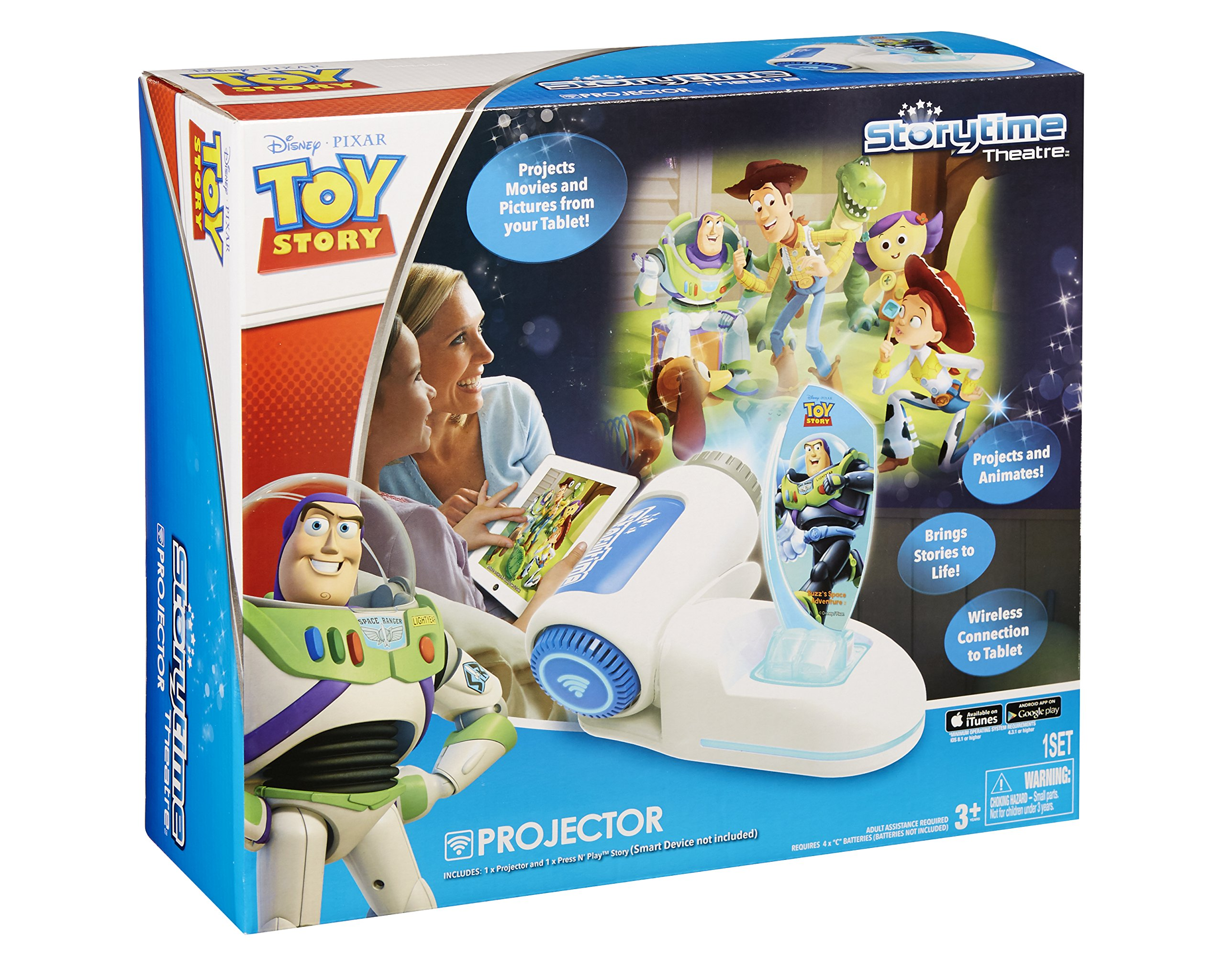 Tech 4 Kids Story Time Theater with Buzz Light Year Press N Play by Tech 4 Kids