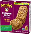 Annie's Gluten Free Chewy Granola Bars, Oatmeal Cookie Bars, 4.9 oz (5 Count)