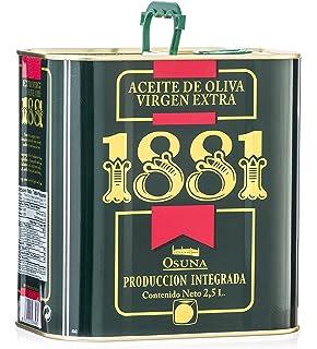 1881 Aceite de Oliva Virgen Extra, Alta Selección, (Caja de dos latas de