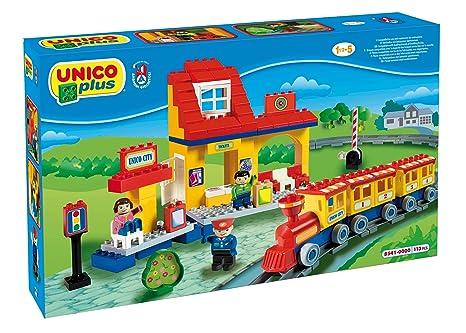 COSTRUZIONE Unico City-Treno Grande Ferrovia 113pz 8541:  ...
