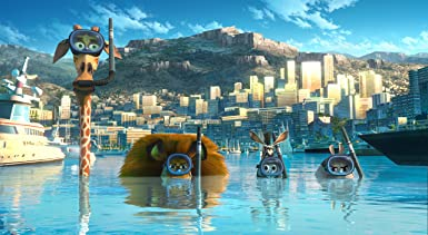 Amazon.com: Madagascar 3: Europes Most Wanted - Triple Play (Blu-ray + DVD + Digital Copy + Keep Calm Retro Badge))[Region Free]: Movies & TV