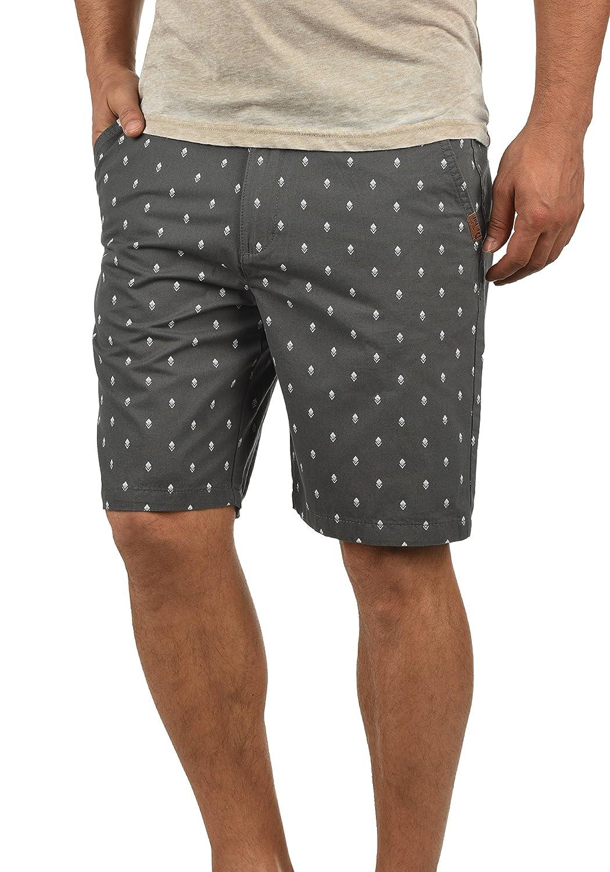 TALLA XXL. !Solid Themo Chino Pantalón Corto Bermuda Pantalones De Tela para Hombre De 100% algodón Regular-Fit