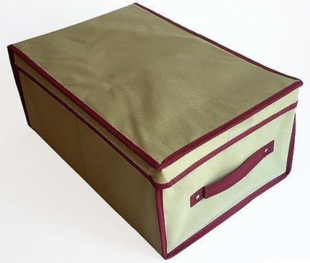 Happy Hogar - Caja de Almacenaje Multiusos - 45*30*20 cm: Amazon.es: Hogar