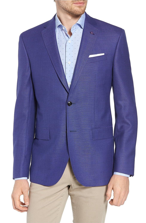 [テッドベーカー] メンズ ジャケットブルゾン Ted Baker London Jay Trim Fit Wool Blaze [並行輸入品] B07DVZ8SWJ  42_R