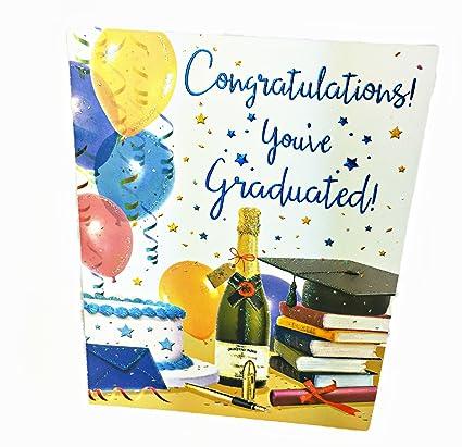Tarjeta de felicitación con texto en inglés