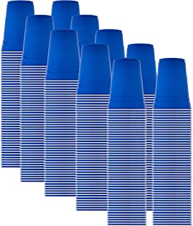 product image for Solo Blue Cup Cold Plastic Party Cups, Round Style, 16 Ounce, 500 Pack