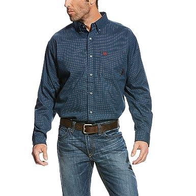 Ariat Men's Fr Durango Long Sleeve Button Down Work Shirt