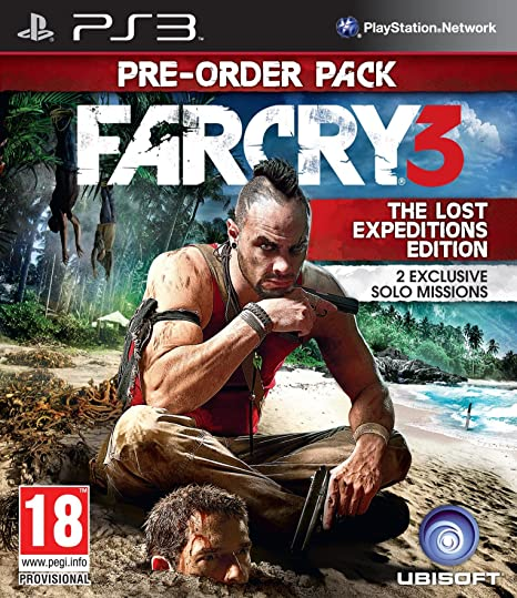 Far Cry 3 The Lost Expeditions Edition Ps3 Amazon In Video Games