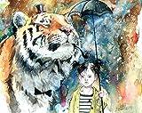 Mr Tiger Mini Art Block