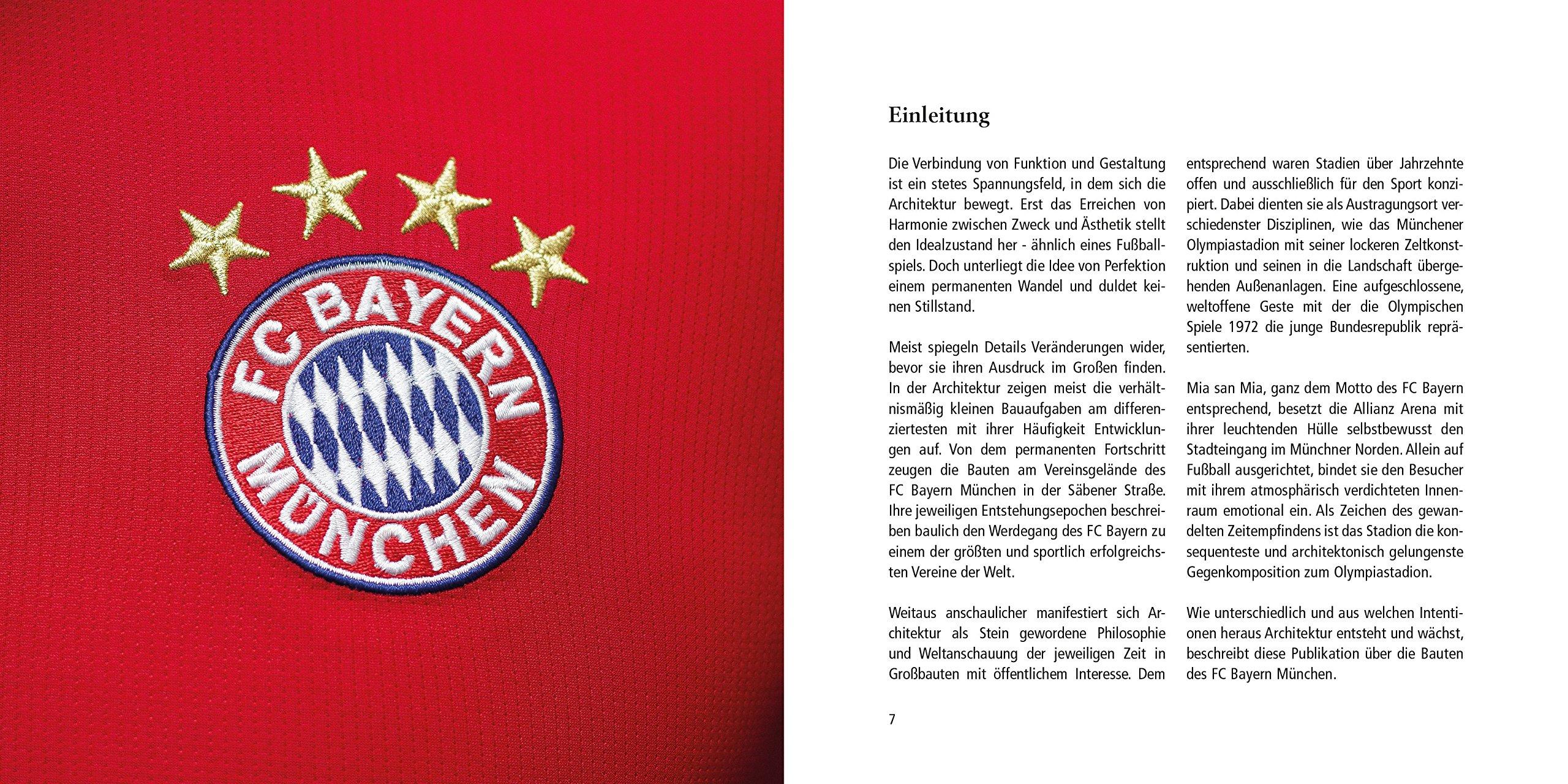 Architekturfuhrer Fc Bayern Munchen 9783942712422 Amazon