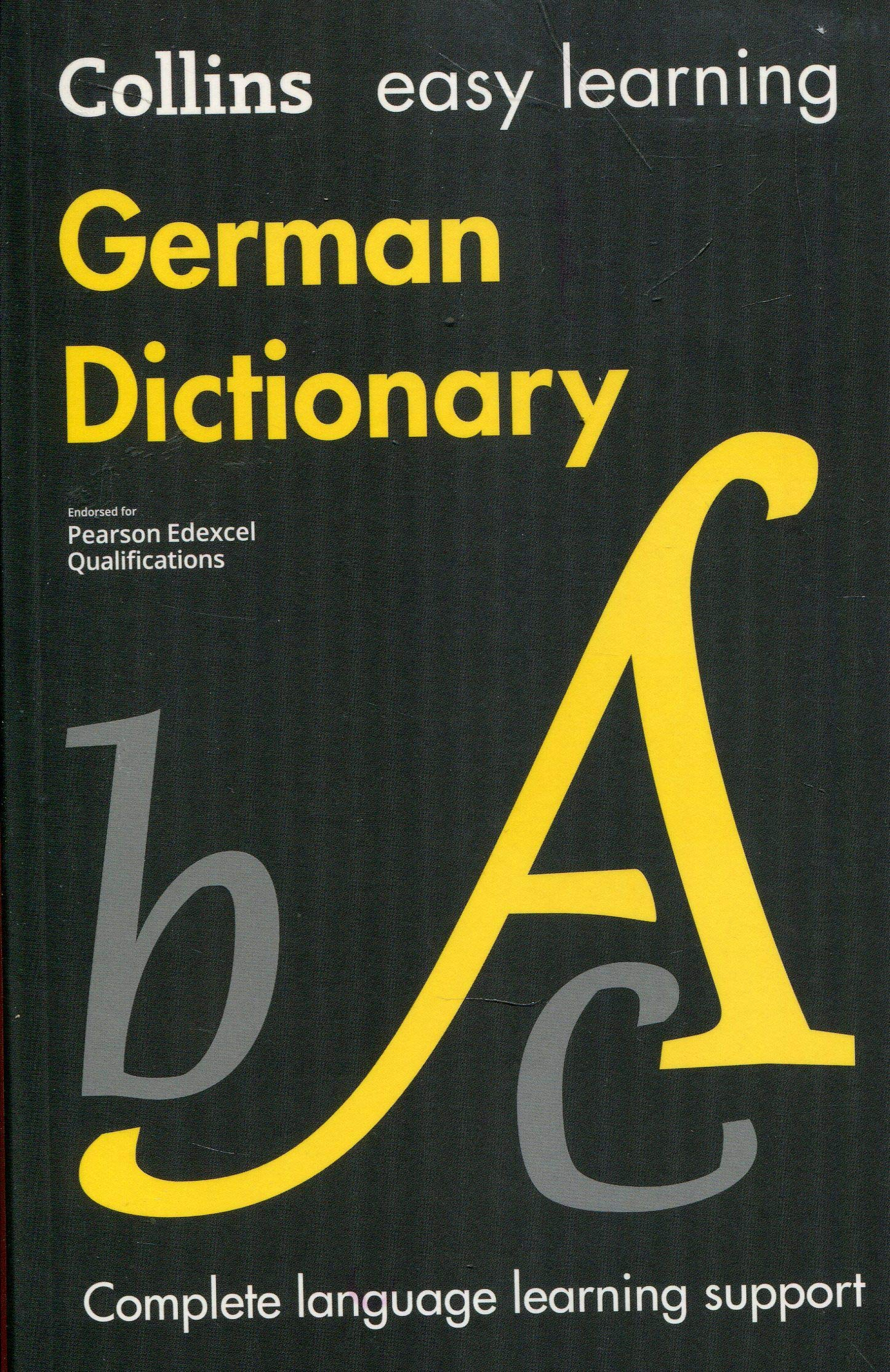 Easy Learning German Dictionary Collins Easy Learning German