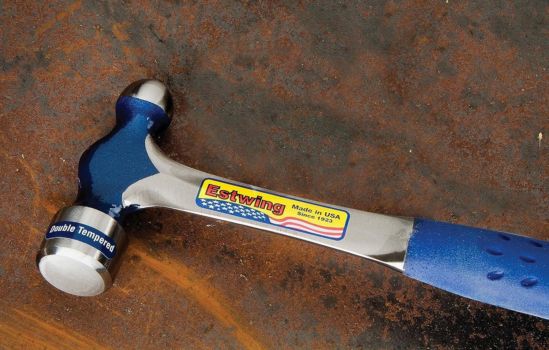 Estwing e312bp Marteau /à panne ronde en nylon Poign/ée en vinyle Bleu 340/340/g