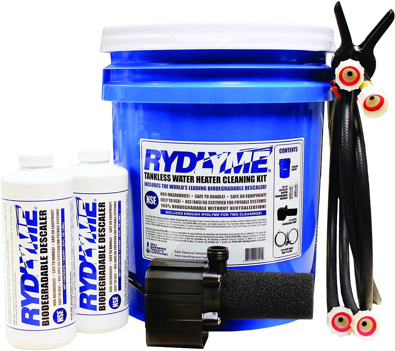 Tools & Home Improvement Kelaro Tankless Water Heater Flushing Kit ...