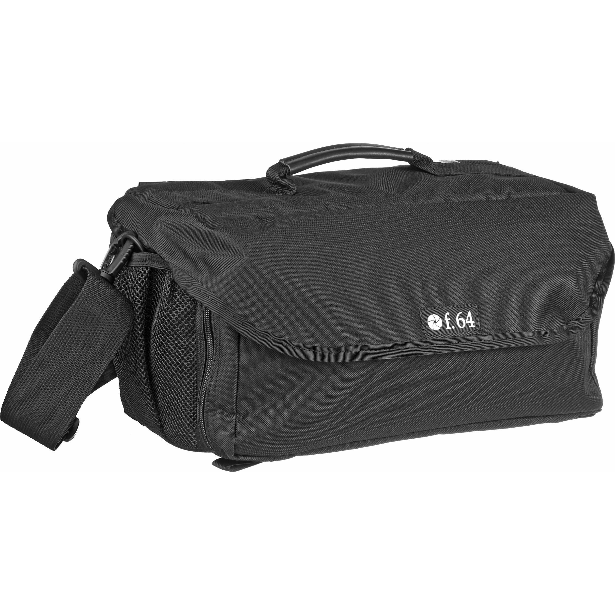 F.64 VTX Black - Camcorder Case Large Video Camera Bag Should Hip Pack Accessory