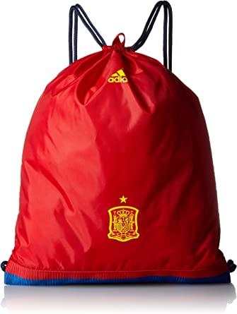 adidas FEF Spain Bolso, Unisex Adulto, Rojo, NS: Amazon.es ...