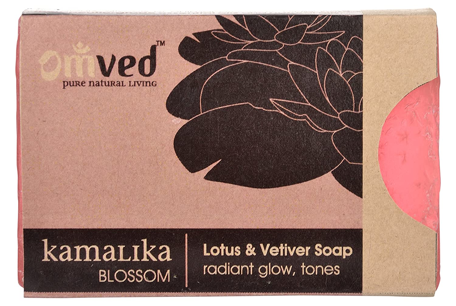 Omved KAMALIKA - Blossom Natural Lotus & Vetiver Handmade