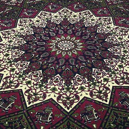 Amazon Com Popular Handicrafts Kp604 Star Hippy Elephant Mandala