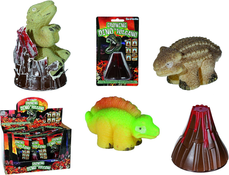 Dinosaurio que sale de volcán: Amazon.es: Juguetes y juegos