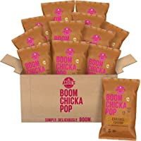 Angie's BOOMCHICKAPOP Buttery Caramel Popcorn, 6.5 Ounce Bag (Pack of 12 Bags)