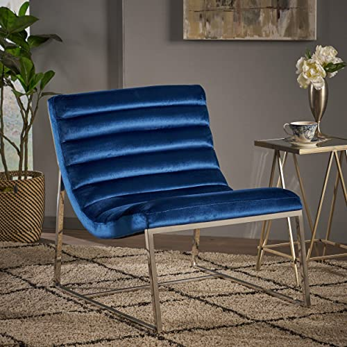 Christopher Knight Home Raoul Parisian Modern Velvet Sofa Chair