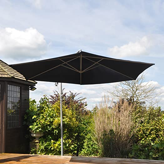 Free Standing Banana Parasol: Amazon.Co.Uk: Garden & Outdoors