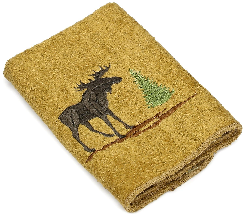 (Washcloth) - Avanti Linens Forestry Wash Cloth, 30cm by 30cm , Nutmeg B00EUTWG9K  Washcloth