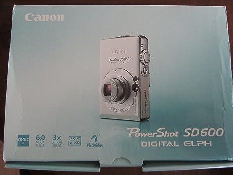 amazon com powershot sd600 digital elph canon manual only rh amazon com Canon PowerShot Digital Camera Review Canon PowerShot Digital Camera Review