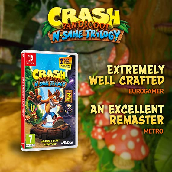 Crash Bandicoot N. Sane Trilogy - Nintendo Switch [Importación ...