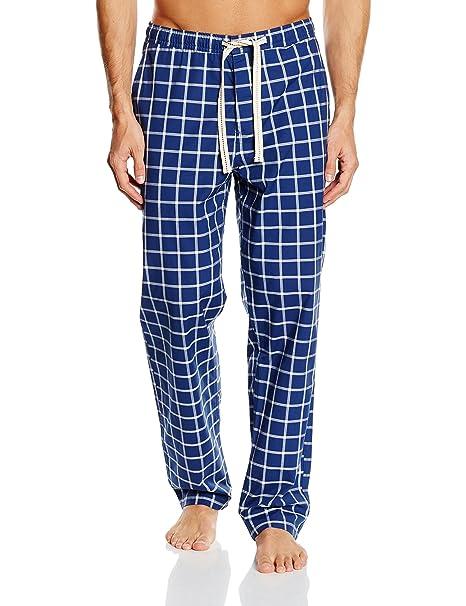 Cortefiel 2387794 - Pantalones de pijama para hombre, color azul (marine blue),