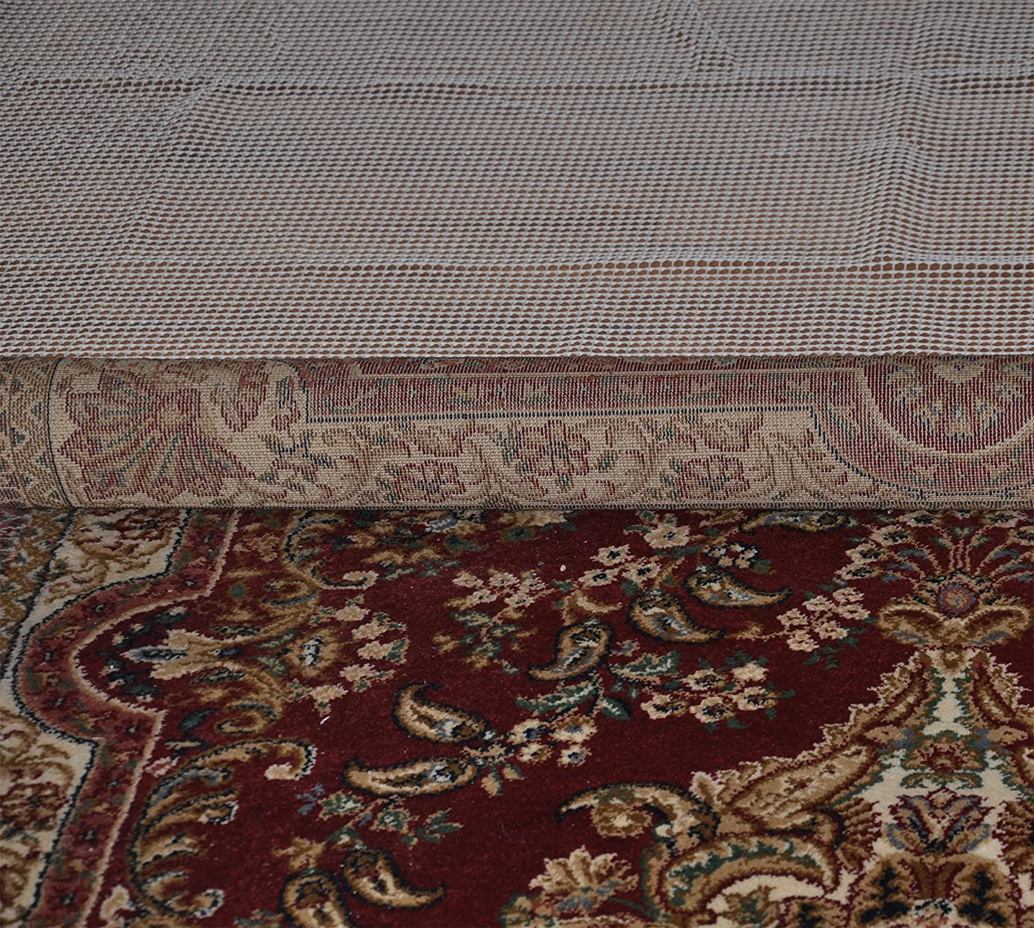Amazon.com: non slip rug pad (5' x 8')   trim to fit any size ...