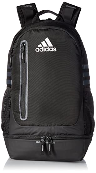 28468ca97ed Amazon.com: adidas Pivot Team Backpack, Black, One Size: Clothing