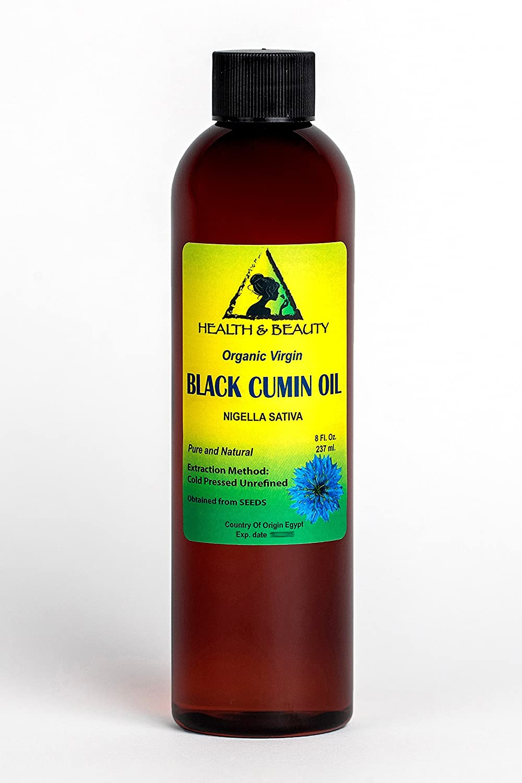 Aceite Puro Orgánico de Comino Negro