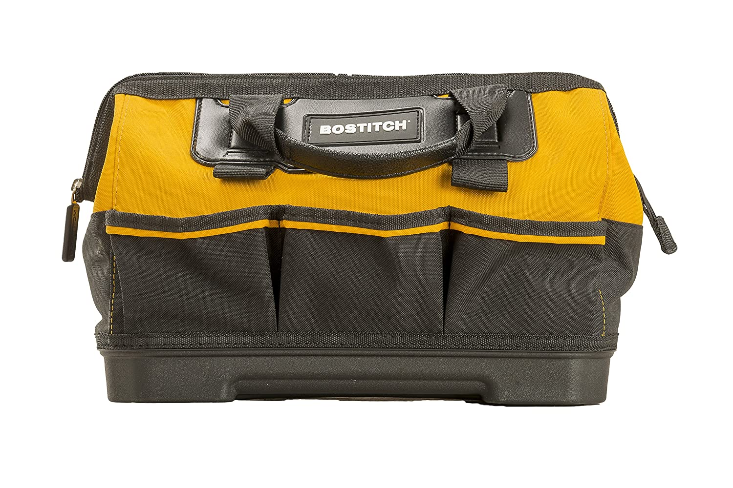 BOSTITCH BTST514150 Open Mouth Tool Bag, 14-Inch