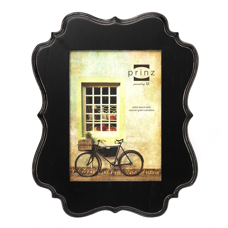 Amazon.com - Prinz Annabelle Wood Photo Frame, 8 by 10-Inch, Black ...
