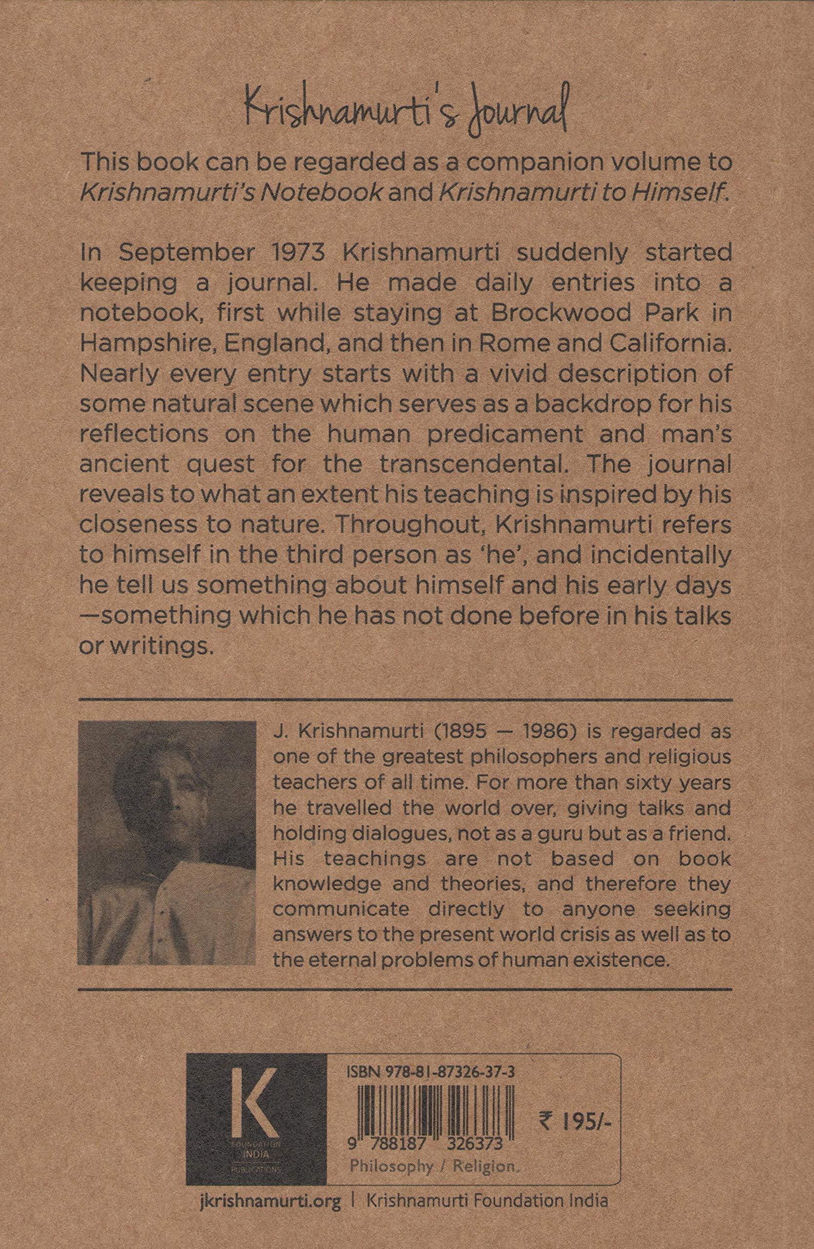 Krishnamurti pdf s jiddu