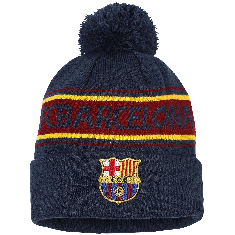 Unisex Winter Beanie / Mütze mit FC Barcelona Design