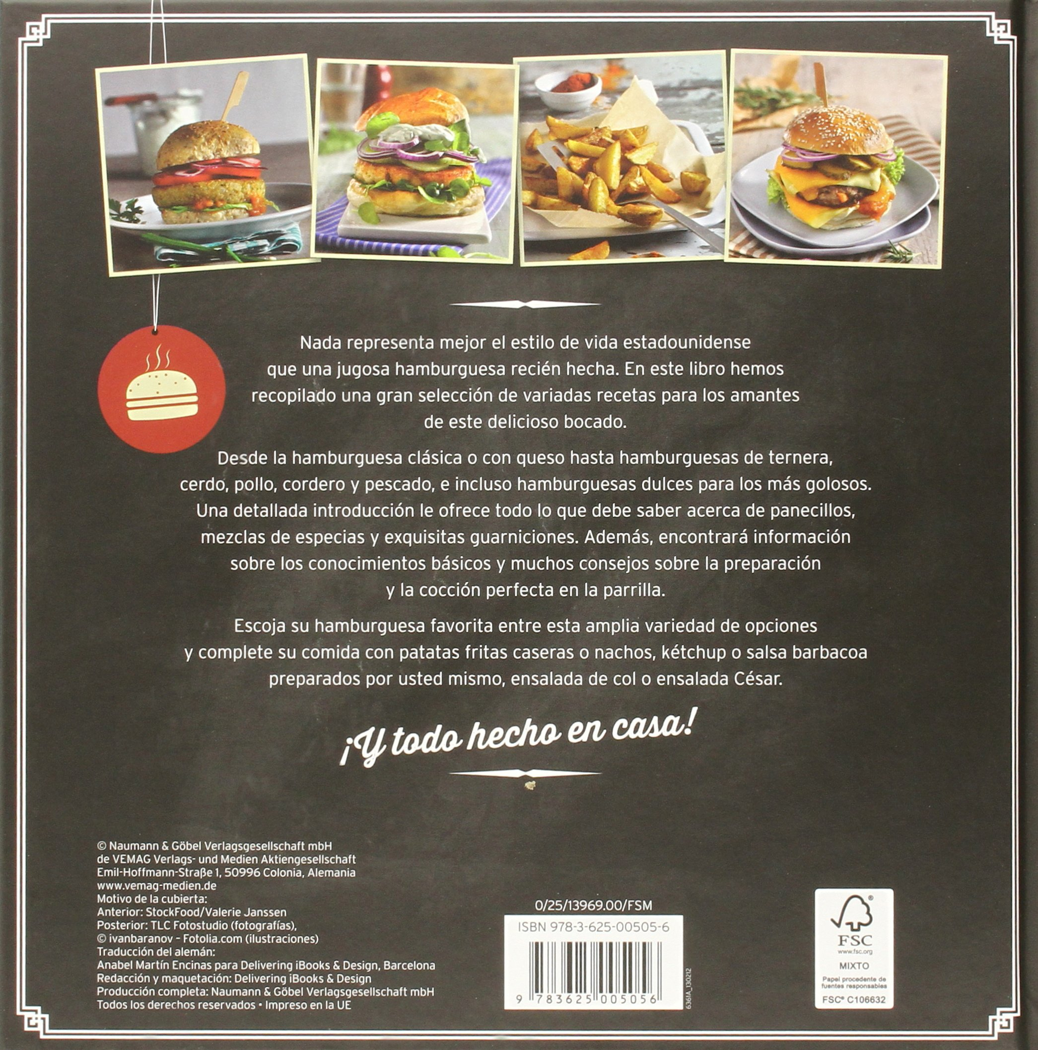 HAMBURGUESAS GOURMET.(NGV): VARIOS(005056): 9783625005056: Amazon.com: Books
