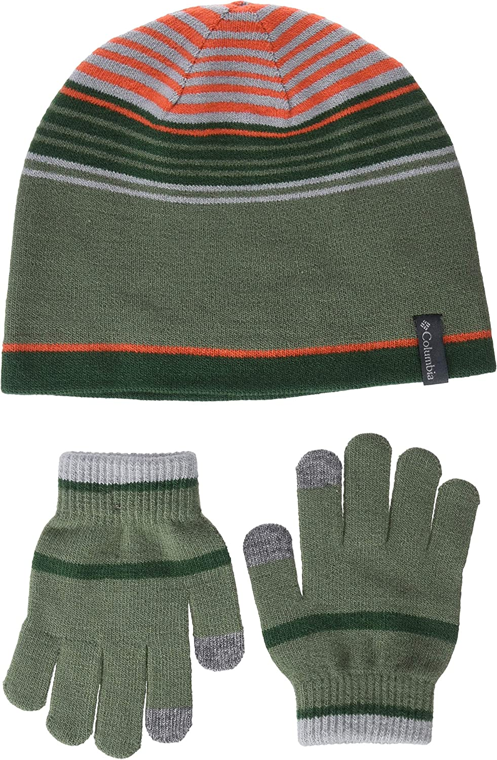 Columbia Unisex Kids Youth Hat and Glove Set Gloves