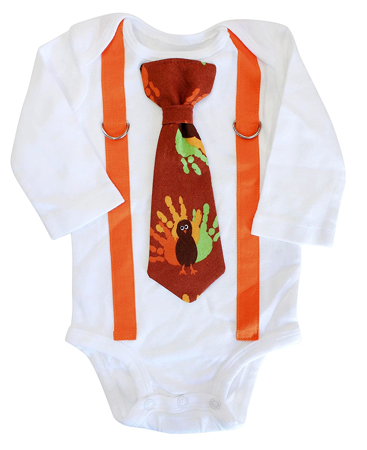 532bb0741d4b Amazon.com: Baby Boy Thanksgiving Outfit, Turkey tie, Newborn thanksgiving  outfit, Thanksgiving baby clothes: Clothing