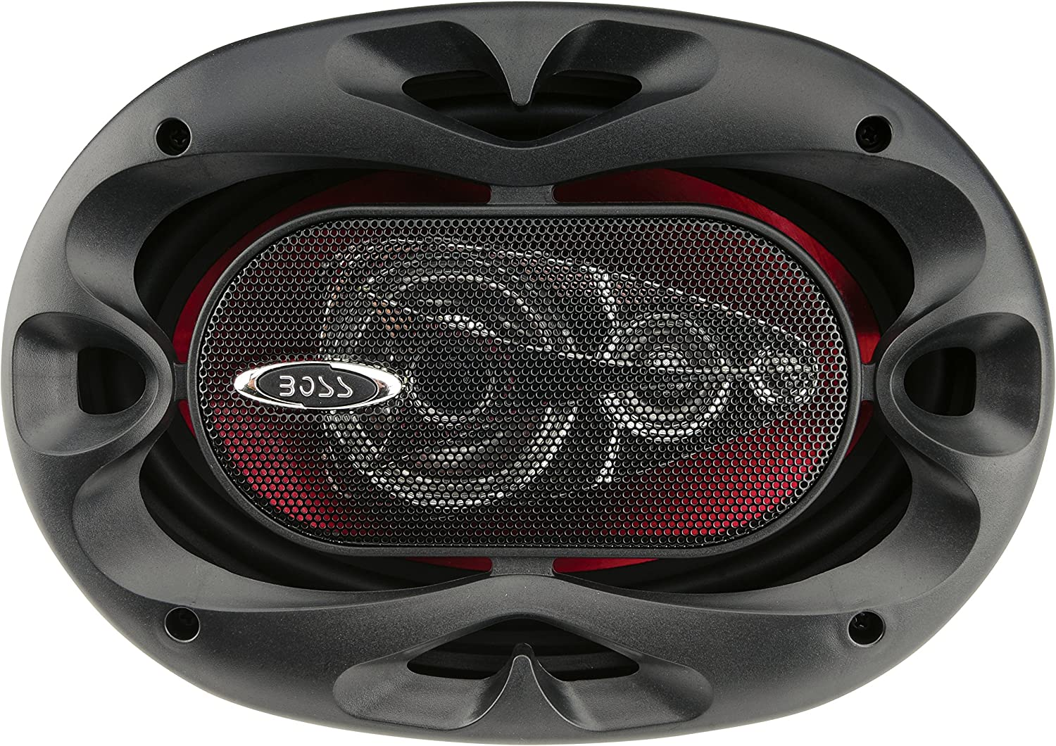 BOSS Audio Systems CH6940 Car Speakers - 500 Watts Of Power Per Pair And 250 Watts Each, 6 x 9 Inch , Full Range, 4 Way, Sold in Pairs, Easy Mounting