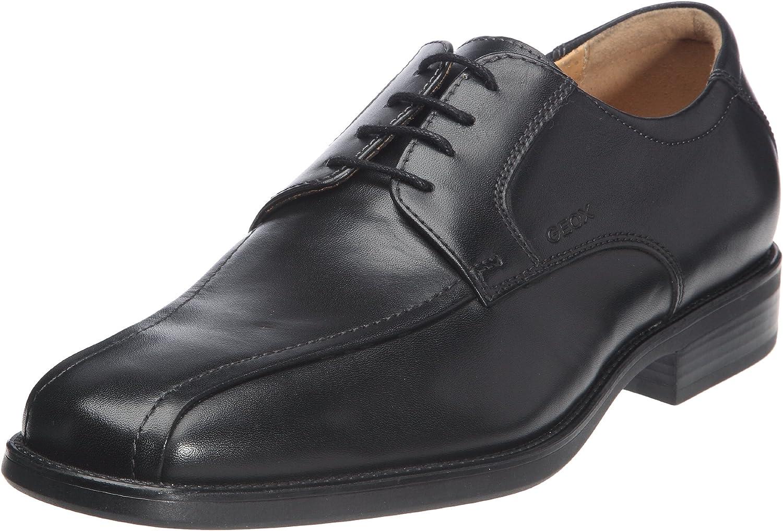 TALLA 45 EU. Geox Textil U Federico W, Zapatos de Cordones Derby para Hombre