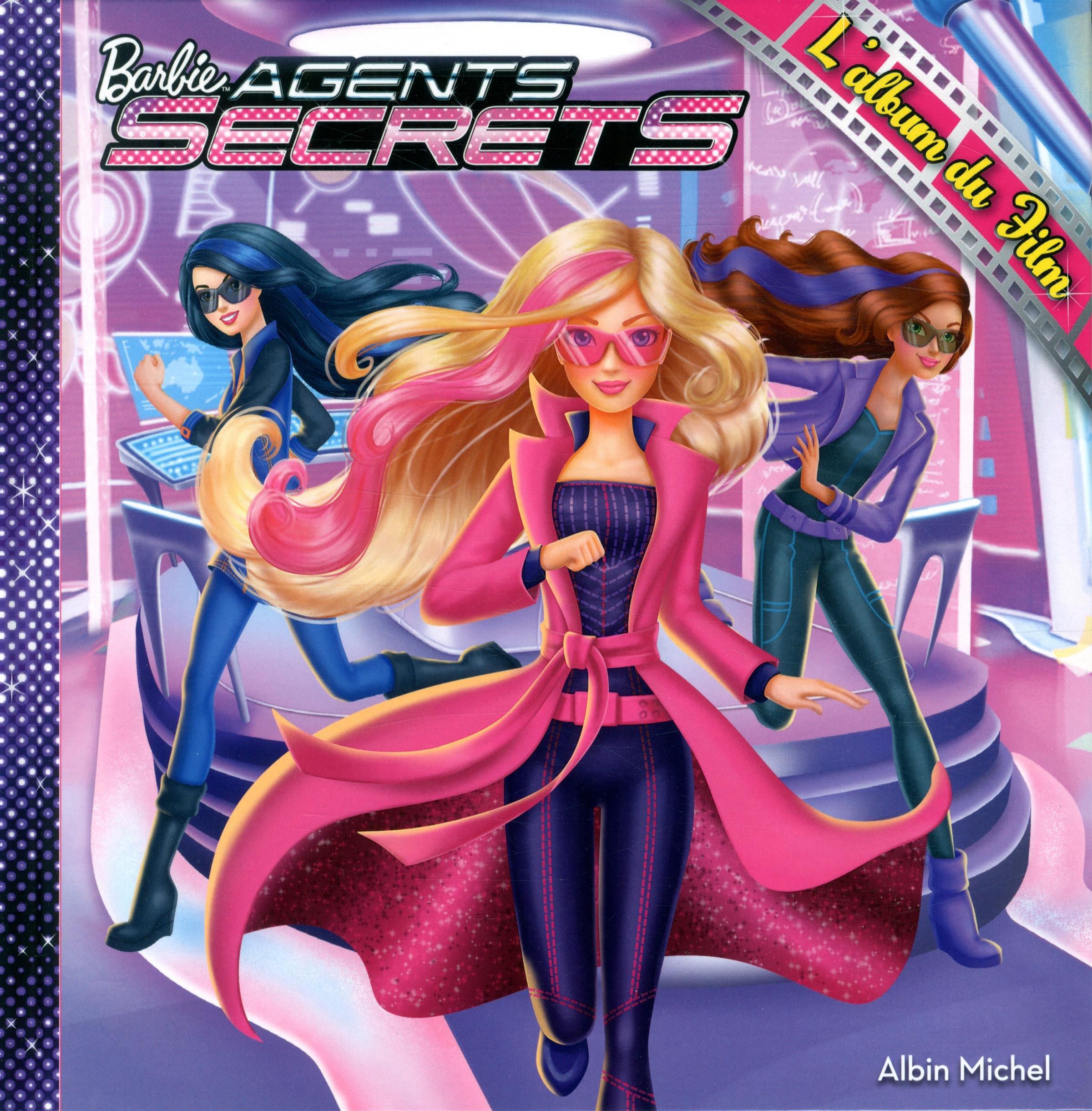 Barbie Agents Secrets Lalbum Du Film Amazoncouk Albin Michel