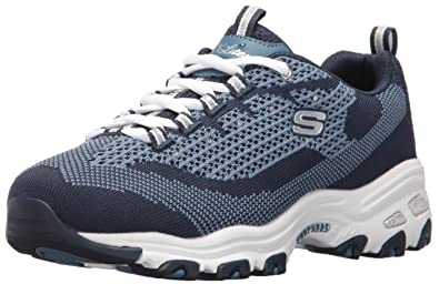 c10d21294781 Skechers Sport Women s D Lites Memory Foam Lace-up Sneaker