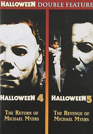 Amazon.com: Halloween 4: The Return of Michael Myers / Halloween 5 ...