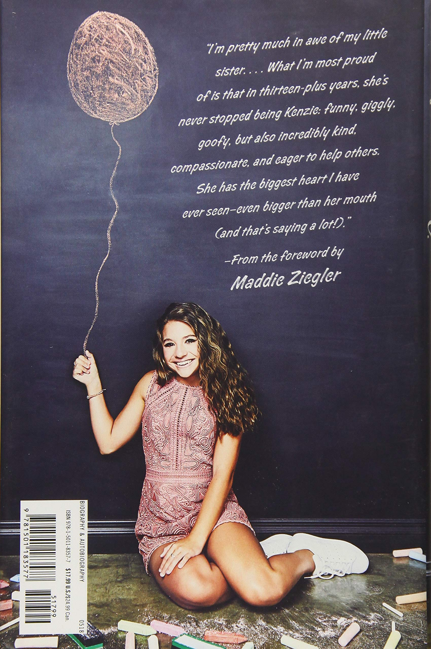 Amazon.com: Kenzie's Rules for Life: How to Be Happy, Healthy, and Dance to Your  Own Beat (9781501183577): Mackenzie Ziegler, Maddie Ziegler: Books
