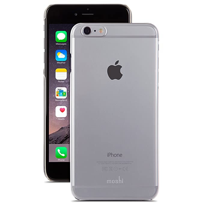 new arrival 60ac6 a1419 Moshi iGlaze XT Case for iPhone 6 Plus - Clear